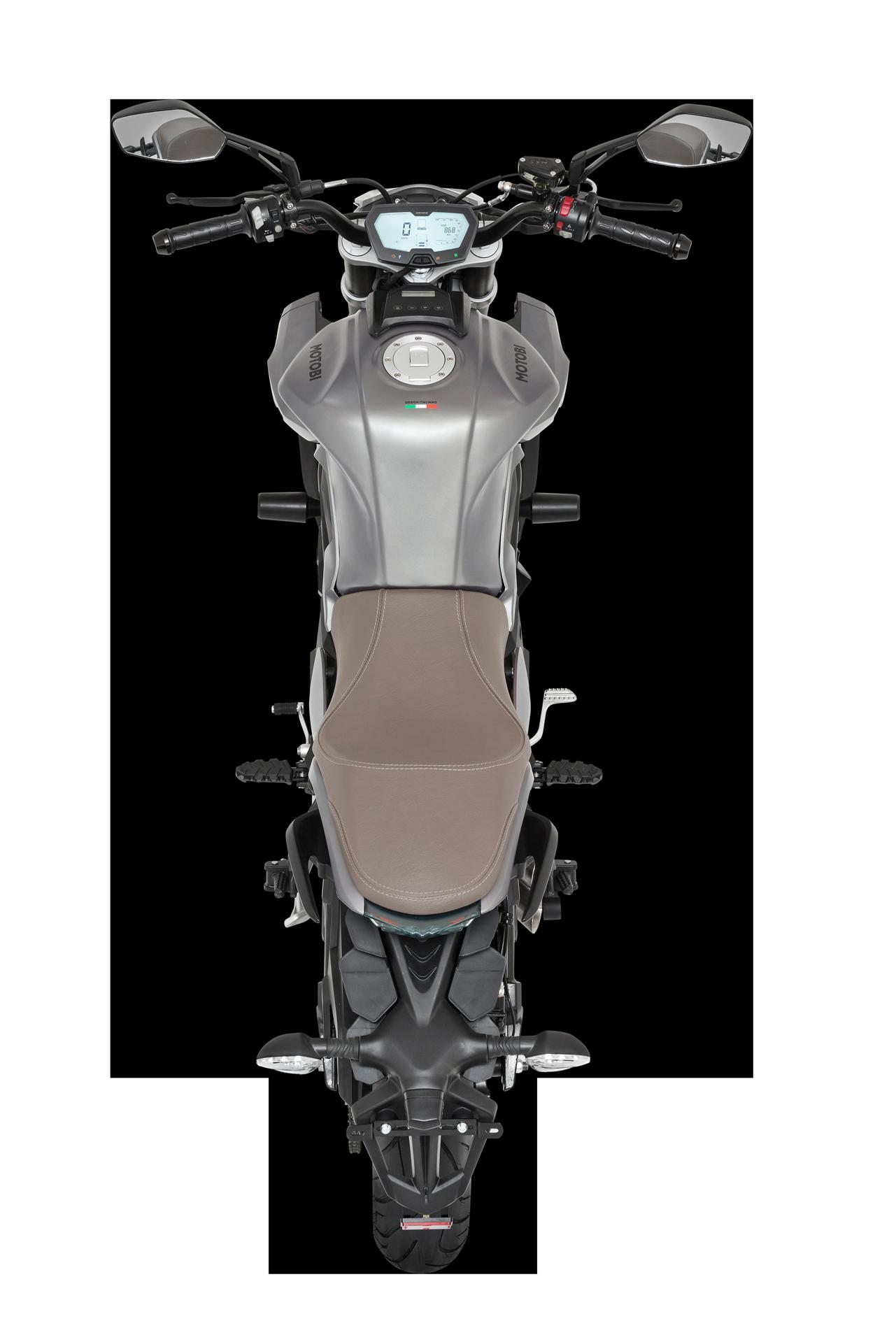 Motobi DL 125_Oben